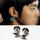 Dia earrings Yunho of Korea idle TVXQ has worn