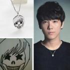 LEE HONG-GI mascot ~ Skull Star Necklace
