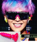 """Gee Dragon """"Crayon"""" stage wear screw earrings"""