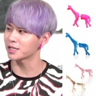 beast [beautiful night's] time of 'Jun Hyun favorite giraffe earrings