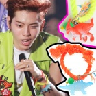 infinite Yokohama Arena concert Dong is a string of dinosaur bracelet - Vivid color of style that was worn in the color ball, marked with cute dinosaur !!