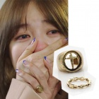 "Yun'une ring that was worn in the ""I want to meet"" (available in pairs)"