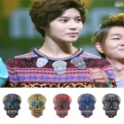 "SHINee skull brooch Temin gave in ""song large festival"" of (shiny)"