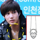 Silver Skull necklace you gave Kai of Korea idle EXO-K