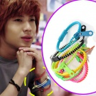 Zipper bracelet Temin gave of SHINee