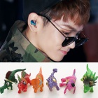 KEY Fashion | SHINEE of key unique dinosaur earrings ☆ various colors of cute earrings (sold separately)