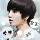 INFINITE antique cubic shield earrings jong gave of (Infinite) (sold in pairs)