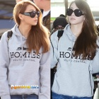 ★ GREY stock completion! The point !! HOMIES hood parka in sunglasses to CL Airport fashion casual ★