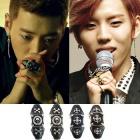 Korea idol fashion ☆ ★ BAP Ban'yonguku / INFINITE Dong is knuckle ring that fit (2type)