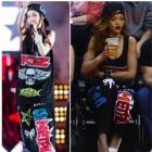 SANDARA Fashion | wear Sandara of 2NE1 is in Korean Music Wave in Bangkok KTZ st ** sweat pants