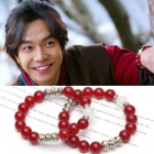 "red bracelet that Lee Seung Gi is always put in the drama ""Gu Family Book"""
