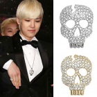 BAP style ☆ Lee Navi Cali point Skull necklace (2 colors)