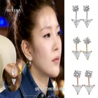 BOA plainclothes mail order ★ CUBIC POINT earrings that BOA has worn in K-POP STAR (3 colors)