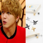 CNBLUE six corner shape earrings over of Jung Yonfua was favorite (sea NTT Blue)