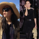 COMME st. cardigan Han Ga In plain clothes ★ Han Ga In is favorite