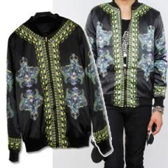 ★★SALE★★ Korea epidemic plain clothes ★ Leopard printing of Zip Up Jacket