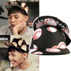 "gd Fashion | ""Thank You"" Ji baseball ball pattern snap back who appeared to 