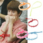Infinite ribbon deco breath LESSON bets jong of INFINITE has worn