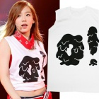 Is [EMS free shipping = 3 business day arrival] Girls new song i got a boy costume topic! ! The Tae wear of SNSD style O! No print sleeves