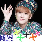 South Korea popular idol wear ★ B1A4 favorite Pinwheel Earring * Pierce