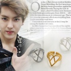 South Korea popular idol EXO favorite ★ Unique Hearts 2type Ring