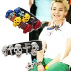 BIGBANG * G-dragon, INFINITE style ☆ G-dragon and INFINITE Leather Skull Bracelet members wore