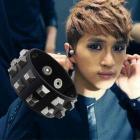 VIXX Style ★ black leather Ken was wearing VIXX STUD Bracelet