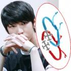 Cross String Bracelet that VIXX Style ★ VIXX wore