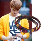 VIXX Style ★ VIXX casual multi Leather Bracelet wearing