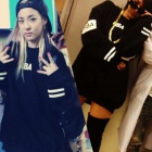 ★ Sandara of discount 40% discount ★ 2ne1, CL HBAst.Radioactive trainer popular is worn by street fashion Hood By Air st.