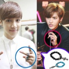 South Korea popular idol accessories mail order EXO · BEAST Igiguan wear unique Hearts gemstone ring of
