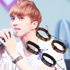 VIXX Style ★ Leather pattern Bracelet ★ Korean fashion mail order ★ idle plainclothes mail order ★