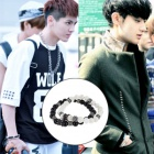 EXO Unique Jemstone Bracelet that was worn well as popular idol EXO plainclothes mail order ★ Airport Fashion