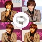 Modern Gackt Ring that was worn in conference Korea popular actor Jangunsoku is [Tramps Like Us]
