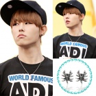 Korea idle Accessories Shop ★ Korea popular idol Block B wear Real Scorpion Pierce (pair)