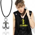 K-POP IDOL Accessories Shop EXO TAO wear Antique Anchor Necklace