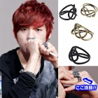 TEENTOP favorite accessories mail order ★ Dark Mood Ring (4color) international celebrities plain clothes shopping site KIRANG