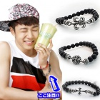 BEAST plainclothes mail order Gigu~an favorite CH-style beads UNIC pendant bracelet ★ Korea accessories mail order KIRANG ★