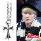 ★ EXO wear style discount plainclothes mail order ★ EXO KRIS Airport Fashion Leonard Necklace