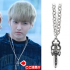 ★ EXO wear style discount plainclothes mail order ★ EXO Silver Sword Necklace