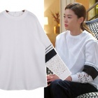 """★SALE★South Korea popular drama """"came from the star you"""" embroidery lace point white blouse heroine Jeon Ji Hyun of wearing"""