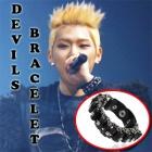 k-pop mail order ★ Idol style ☆ BBC idle favorite ☆ Black Devil Bracelet ☆ idle favorite items ☆