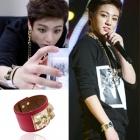 BTS Stage Costume Shop Korea popular idol BTS wear style Golden Stud Bracelet (4color)