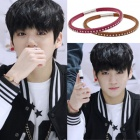 BTS Stage Costume Shop Korea popular idol BTS wear style Slim mini Ball Bracelet (8color)