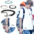 EXO plain clothes and accessories mail order Korea popular idol EXO wear style Antique Hunter Bracelet (3color)