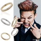 South Korea popular idol wear accessories discount mail order BIGBANG G DRAGON MARTINI RING (2color)
