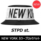 Street fashion mail order |. ST @ MPD LA st Big NEW YORK color block hat