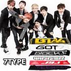 Korea idle Toy Store | Korean Boiguruppu slogan high quality fluorescent cheering towel (7type)