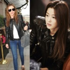 ★ High Quality ★ came from stars Your Jeon Ji Hyun, fashion-top model Miranda Kerr style! BALMA * STYLE lambskin leather jacket