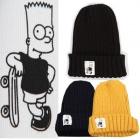 STREET OR CASUAL STYLE! Azeami knit Simpson skateboard Beanie